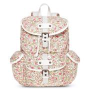 Olsenboye® Ditsy Print Glitter White Backpack
