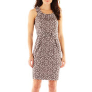 Robbie Bee® Sleeveless Sheath Dress