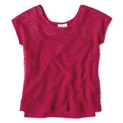 Sally M™ Sally Miller Open-Weave Top - Girls 6-16