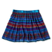 Sally M™ Sally Miller Tribal-Print Chiffon Skirt - Girls 6-16