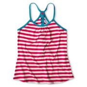 Sally M™ Sally Miller Racerback, Striped Cami - Girls 6-16