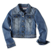 Dreampop® by Cynthia Rowley Cropped Denim Jacket - Girls 6-16