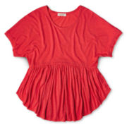 Dreampop® by Cynthia Rowley Peplum Top - Girls 6-16