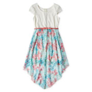 Disorderly Kids® Belted, High-Low Dress - Girls 6-16 and Plus