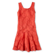 Speechless® Daisy Lace Dropwaist Dress - Girls 6-16 and Plus