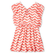 Speechless® Chevron Blouson Dress - Girls 6-16 and Plus