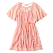 Sally M™ Sally Miller Crisscross-Back Chiffon Dress - Girls 6-16