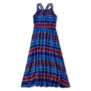 Sally M™ Sally Miller Tribal-Print Chiffon Sundress - Girls 6-16