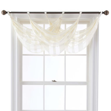 jcpenney.com | Queen Street® Farmington Tab-Top Waterfall Valance