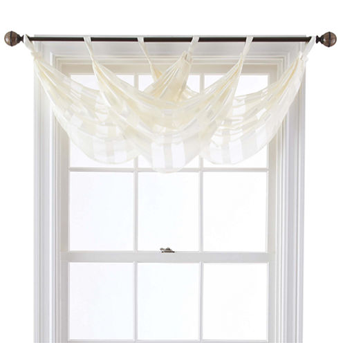 Queen Street® Farmington Tab-Top Waterfall Valance