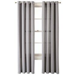 Studio™ Brickwork Grommet-Top Curtain Panel