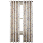 JCPenney Home™ Ava Grommet-Top Cotton Curtain Panel