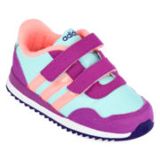 adidas® Neo V Girls Jogger Shoes - Toddler