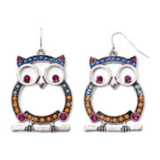 Decree® Owl Earrings