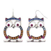Decree® Owl Earrings