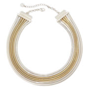 Monet® Two-Tone Multi-Row Necklace