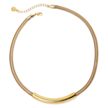 jcpenney.com | Monet® Gold-Tone Torque Necklace