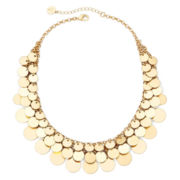 Liz Claiborne® Gold-Tone Shaky Collar Necklace