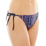 Arizona Side-Tie Hipster Swim Bottoms - Juniors