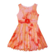 by&by Girl Sleeveless Tie Dye Glitter – Girls 7-16 and Plus