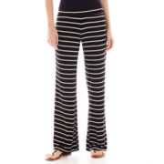 by&by Striped Palazzo Pants