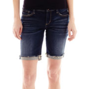 Arizona Raw-Cuff Bermuda Shorts