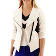 Worthington® Colorblock Moto Jacket