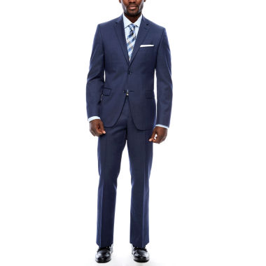 jcpenney.com | Collection by Michael Strahan Navy Tic Suit Separates-Slim Fit