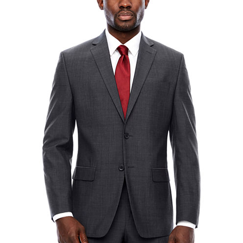 Collection by Michael Strahan  Classic Fit Pin Dot Suit Jacket