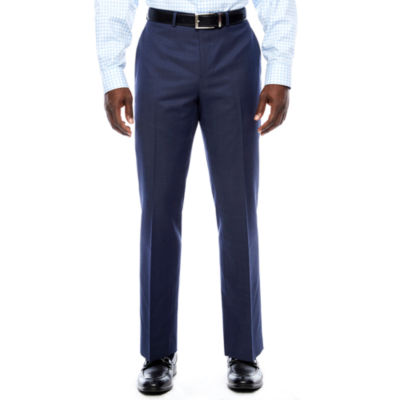 Collection by Michael Strahan  Slim Fit Woven Pin Dot Suit Pants - Slim