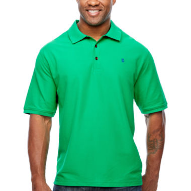 jcpenney.com | IZOD Short Sleeve Solid Pique Polo Shirt Big and Tall