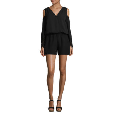 jcpenney.com | By&By Cold Shoulder Romper