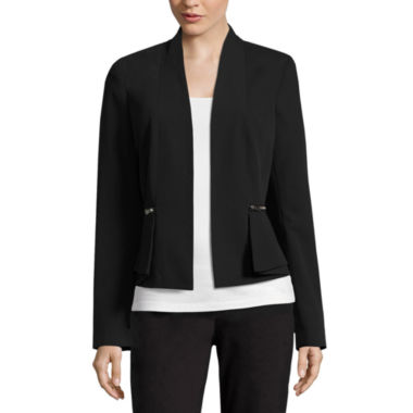 jcpenney.com | Worthington Draped Peplum Jacket