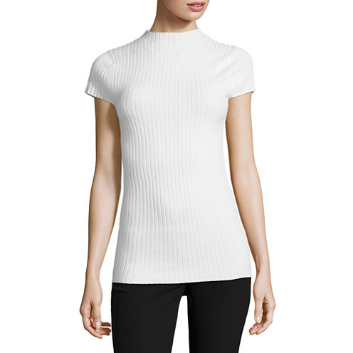 Worthington Cap Sleeve Pullover Sweater