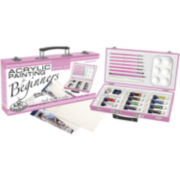 Pink Art For Beginners Artist-Acrylic Painting Set