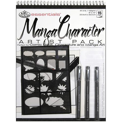 Essentials Artist Pack-Manga Character
