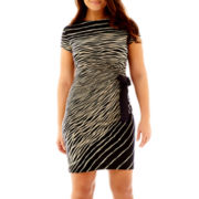 Danny & Nicole® Side-Tie Dress