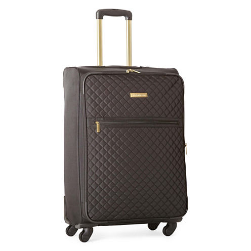 """Liz Claiborne Quilted 26"""" Spinner Luggage"""