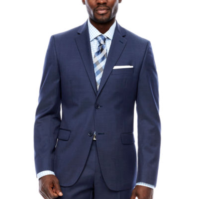 Collection by Michael Strahan  Slim Fit Pin Dot Suit Jacket