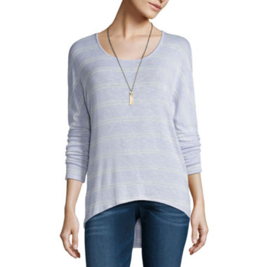 jcpenney.com | Self Esteem 3/4 Sleeve Round Neck T-Shirt-Juniors