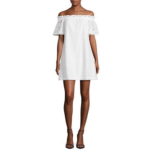 a.n.a Lace Off The Shoulder Dress