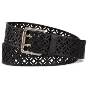 Diamond-Design Cutout Belt