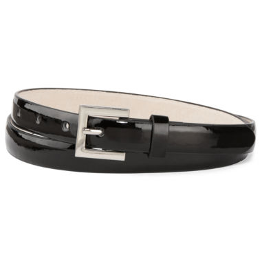 jcpenney.com | Patent Leather Skinny Belt