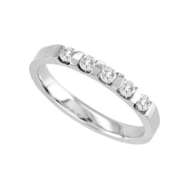 jcpenney.com | 1/4 CT. T.W. Channel-Set Diamond Band