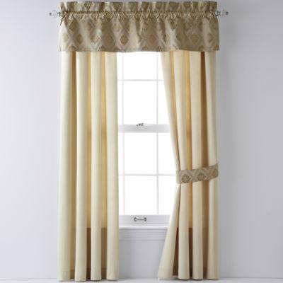 River Oaks 2-Pack Rod Pocket Curtains
