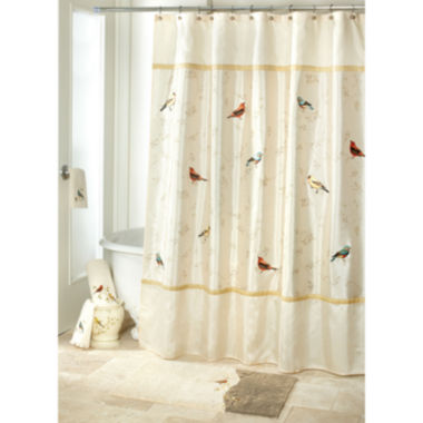 jcpenney.com | Avanti Gilded Birds Shower Curtain