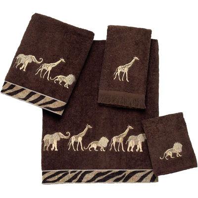 Avanti Animal Parade Bath Towels