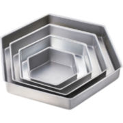 Wilton® Performance 4-pc. Hexagon Cake Pan Set