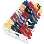 LYNK® 15-Pair Shoe Rack