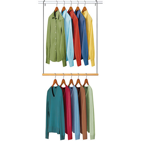 LYNK® Double Hang Closet Rod